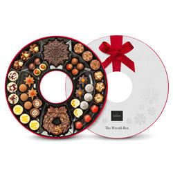 Hotel Chocolat The Wreath Box
