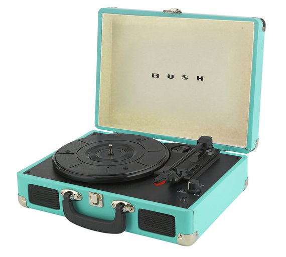Bush Classic Suitcase Turntable