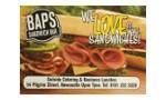 Baps Sandwich Shop logo