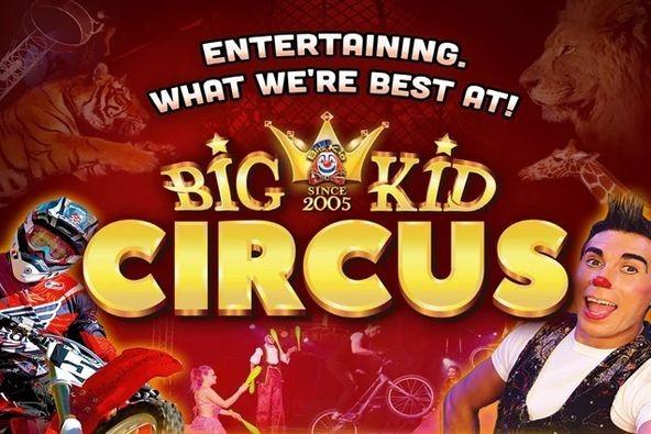 10% Discount - Big Kid Circus Image