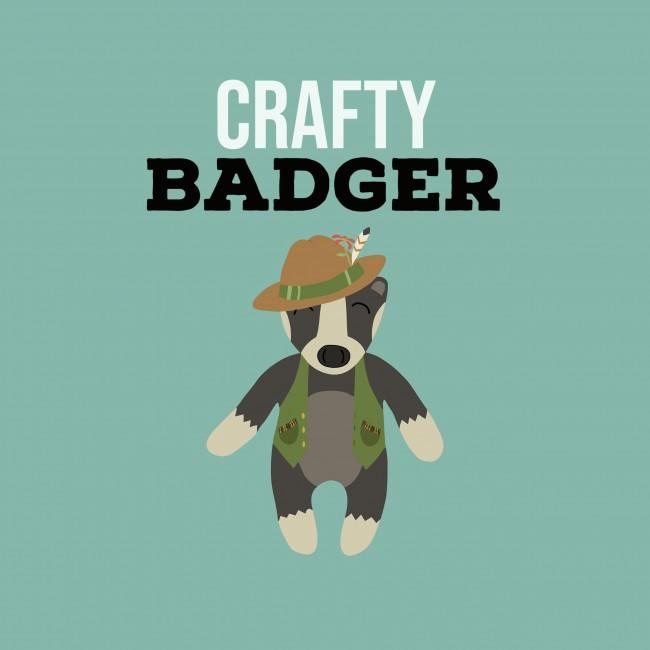 Crafty Badger logo