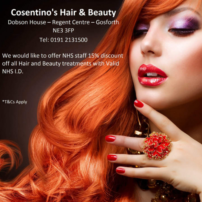 Consentino's Hair & Beauty logo