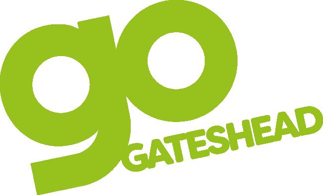 GO Gateshead logo