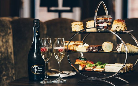 Prosecco Afternoon Tea @ The Hudson