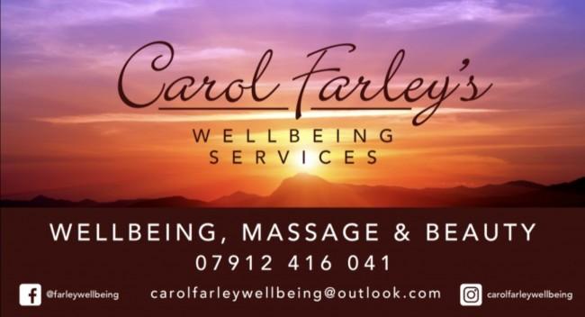 Carol Farley Wellbeing logo