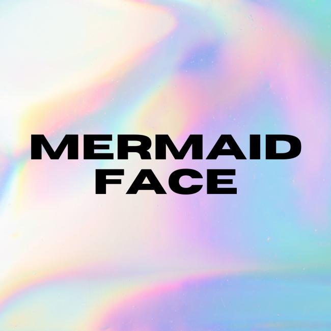 Mermaid Face logo