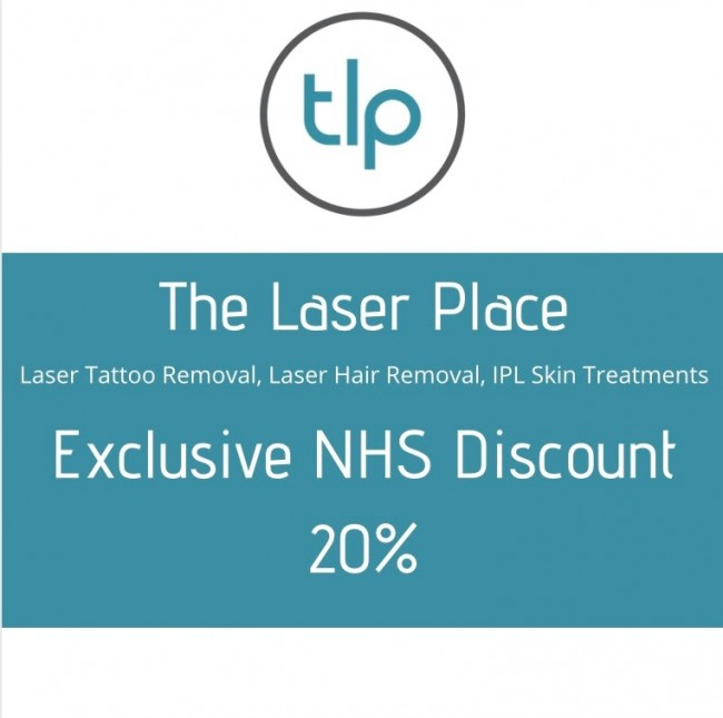 The Laser Place  logo