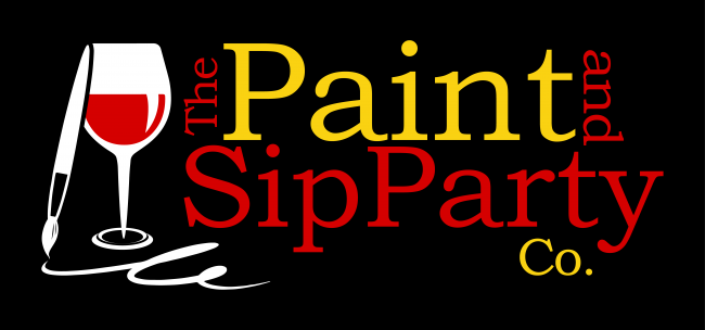The Paint and Sip Party Co logo