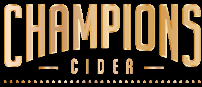 Champions Cider logo