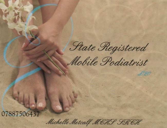 Michelle Metcalfe Podiatry logo