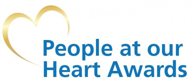 People at our Heart Awards logo