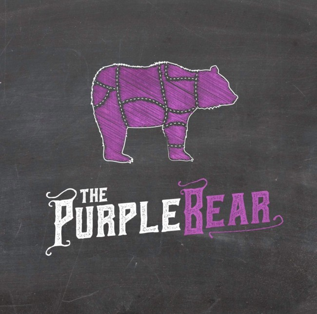 The Purple Bear logo