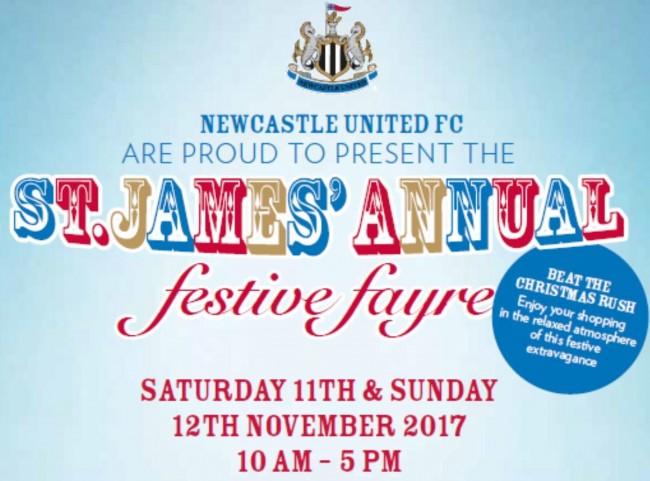 St James' Festive Fayre logo