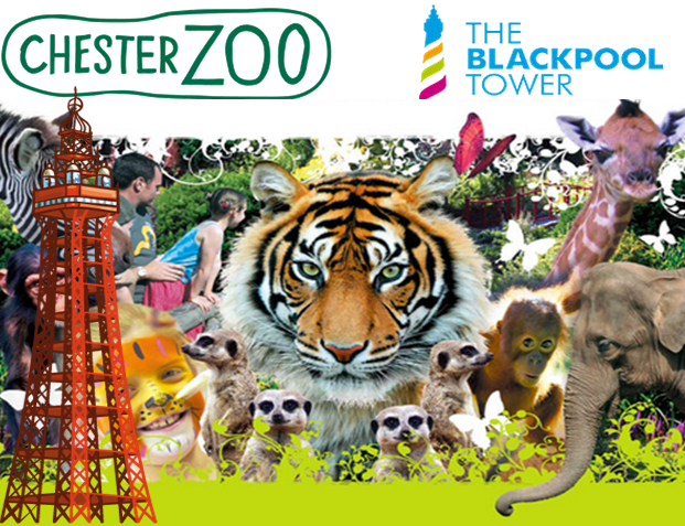 Chester Zoo and Blackpool Tower
