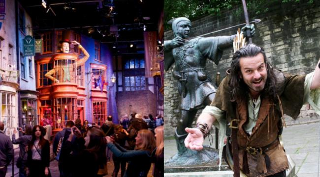 Warner Bros Studio Harry Potter Tour & Nottingham Castle Trip