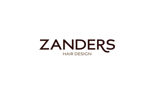 Zanders Hair design logo