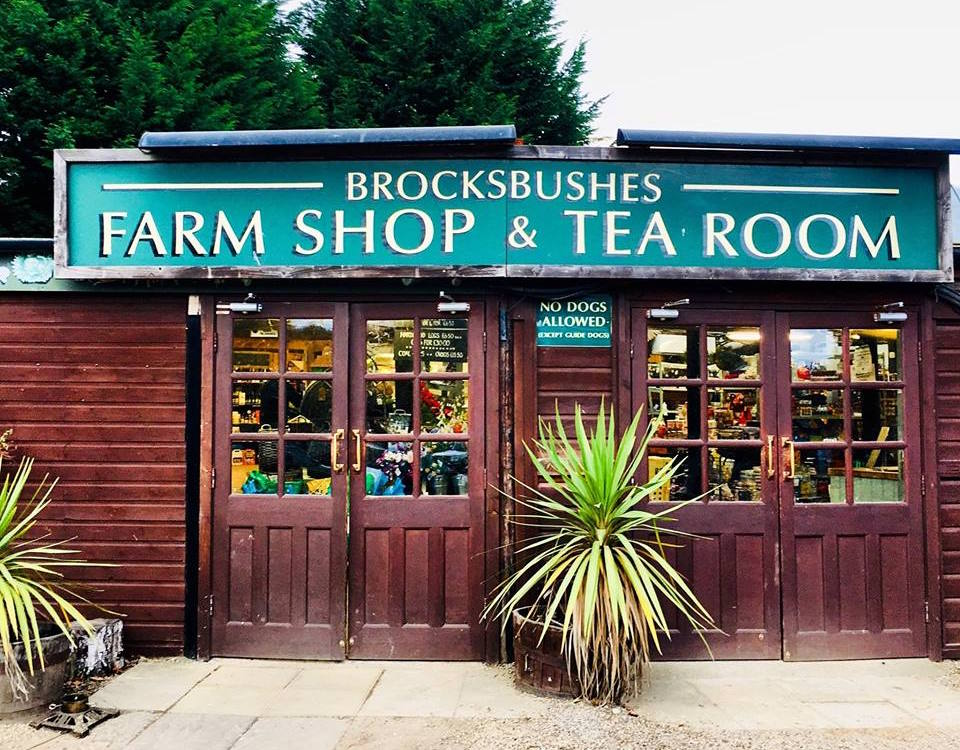 Brocksbushes Farm Shop logo