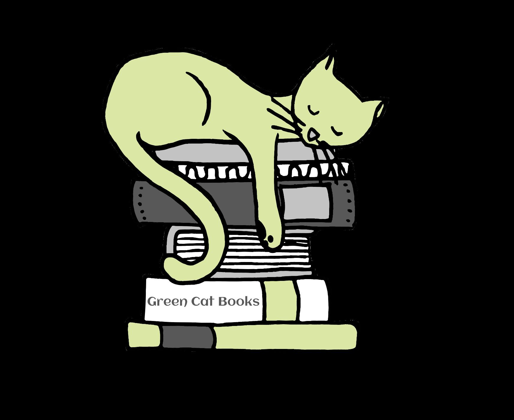 Green Cat Books logo