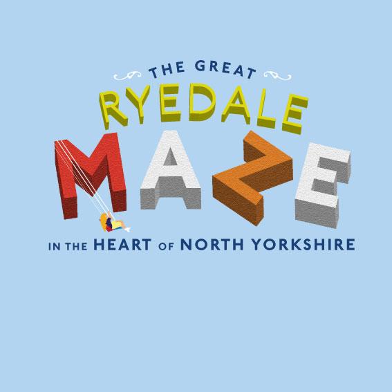 Great Ryedale Maze logo