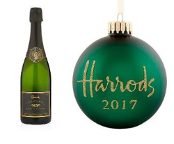 Harrods Champagne, Bottle Stopper and Bauble