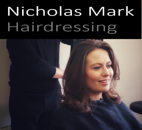 Nicholas Mark Hairdressing logo