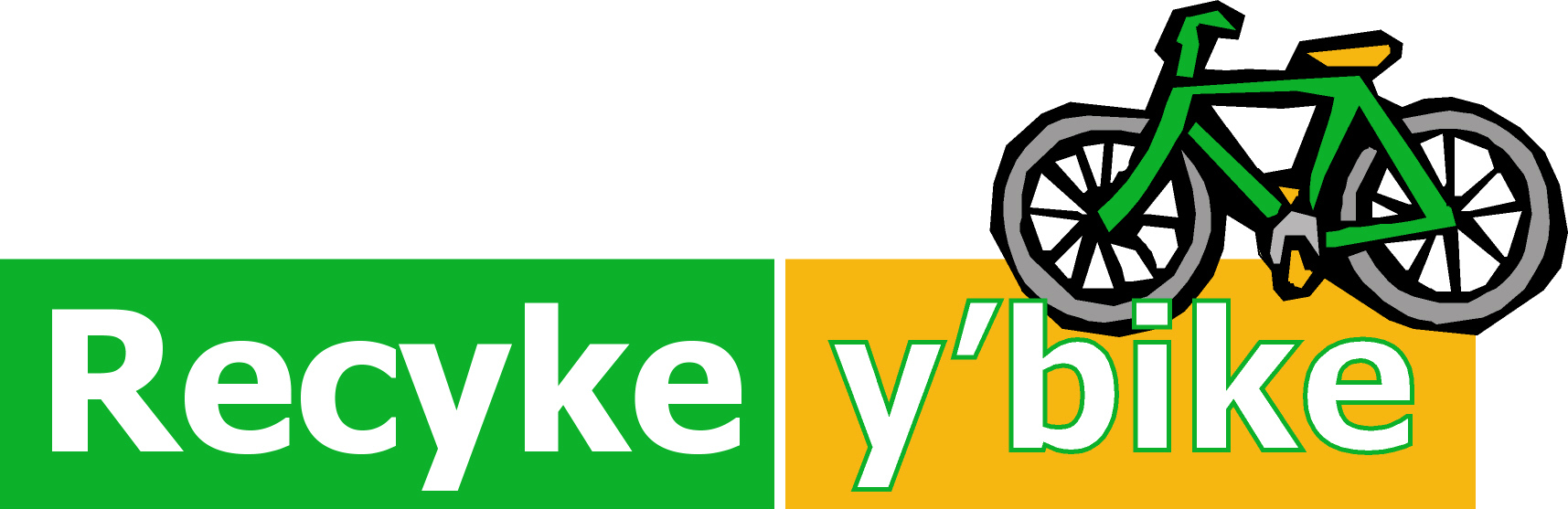 Recyke y'bike logo