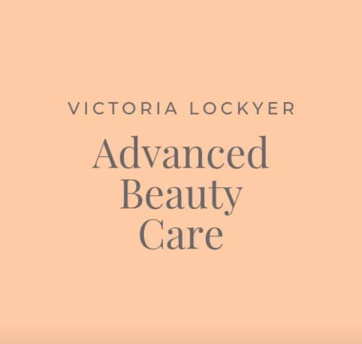 Victoria Lockyer Advanced Beauty Care  logo