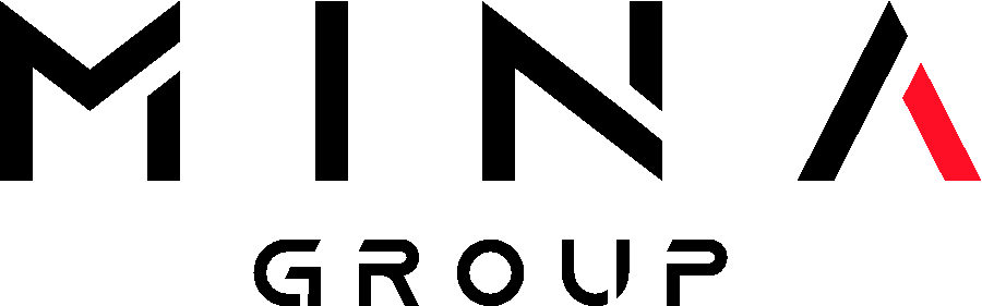 The Mina Group logo