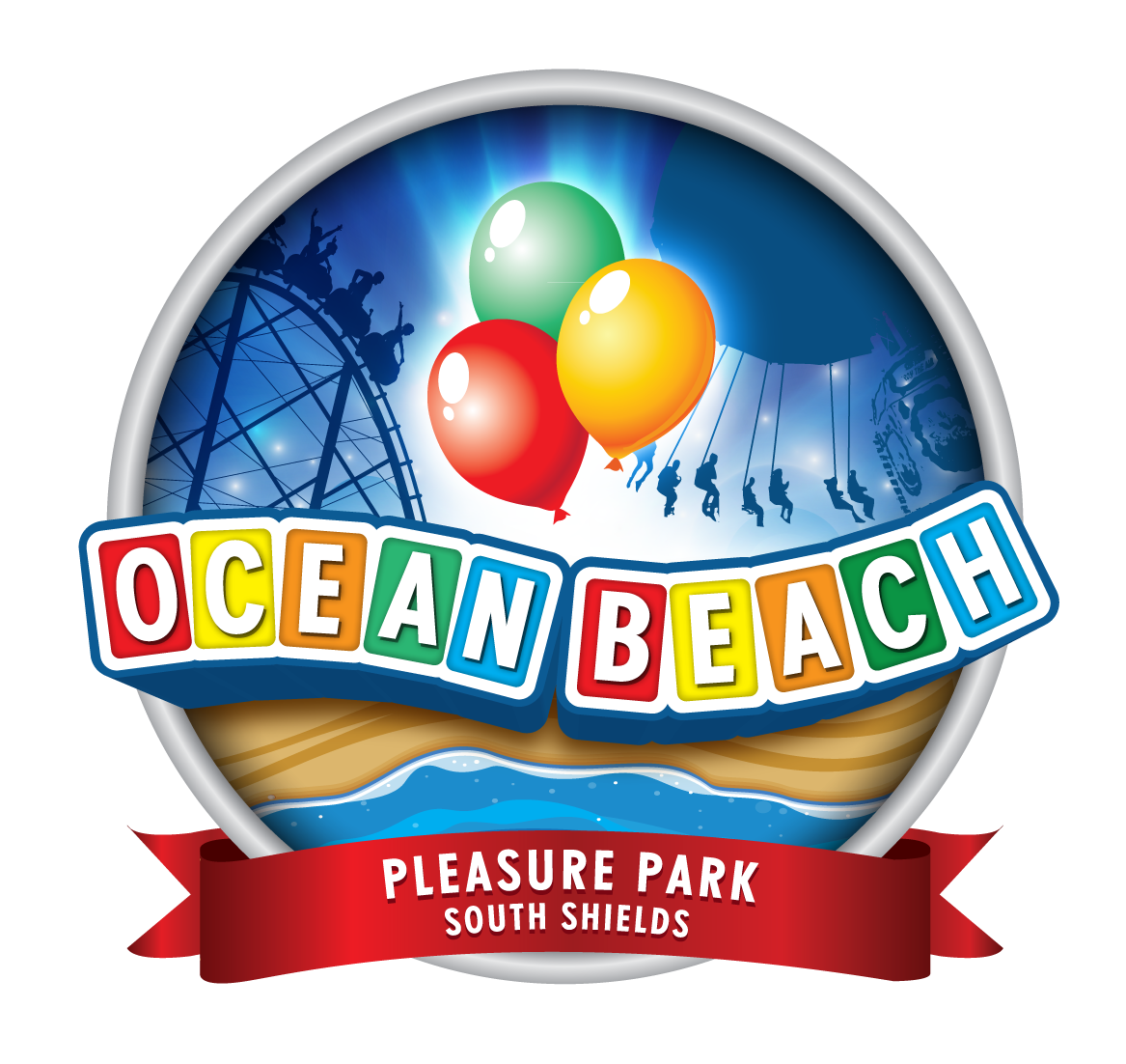 Ocean Pleasure Beach logo