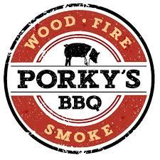 Porky's BBQ  logo