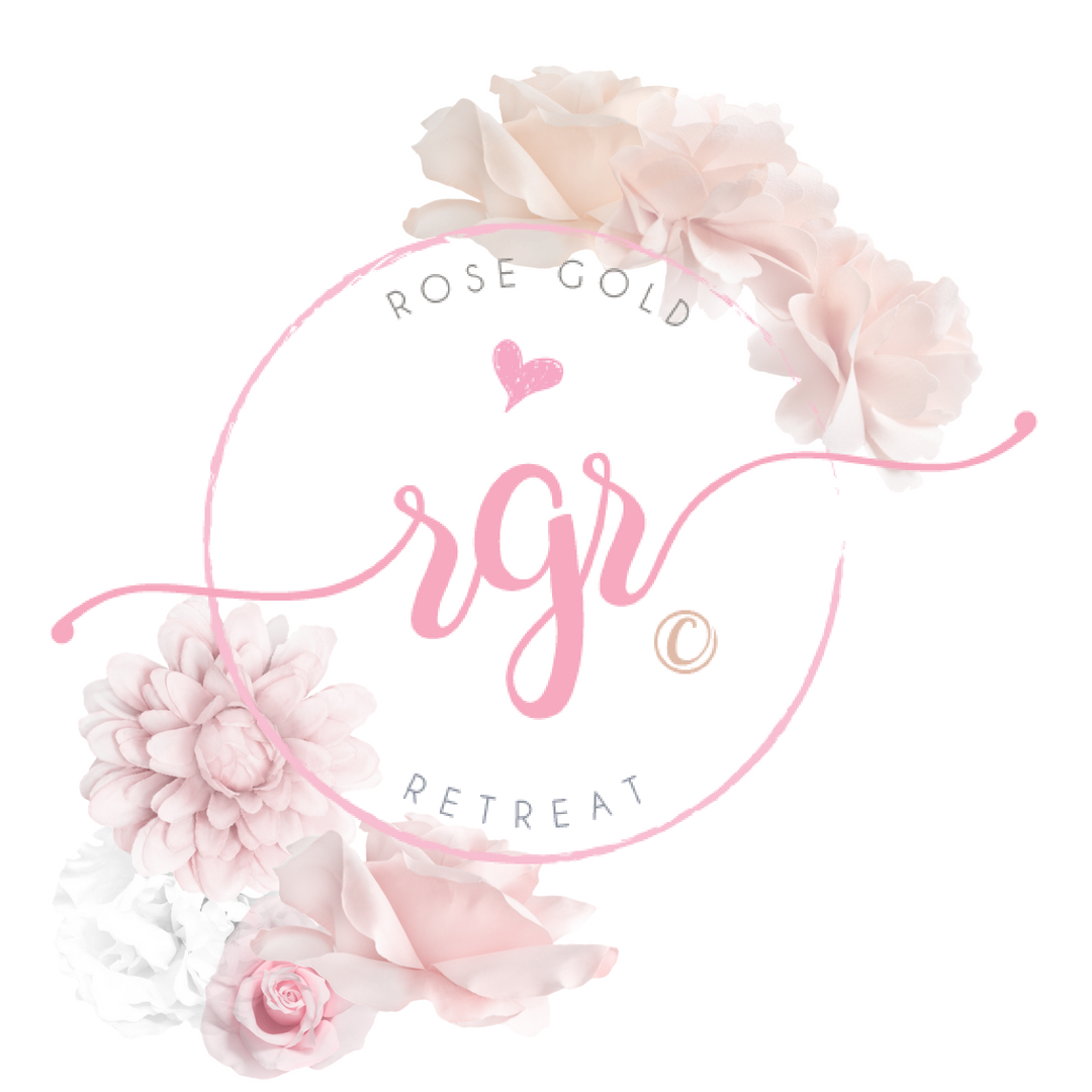 Rose Gold Retreat logo