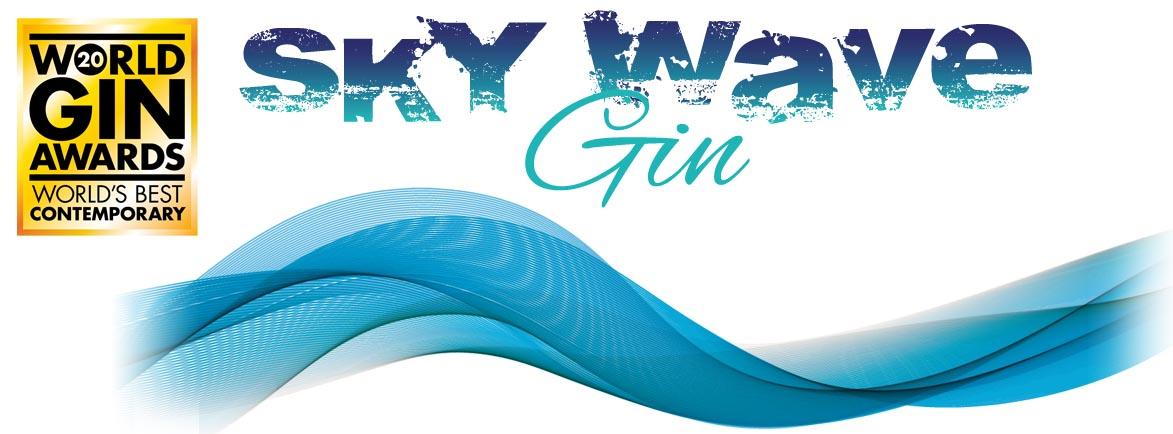 Sky Wave Gin logo