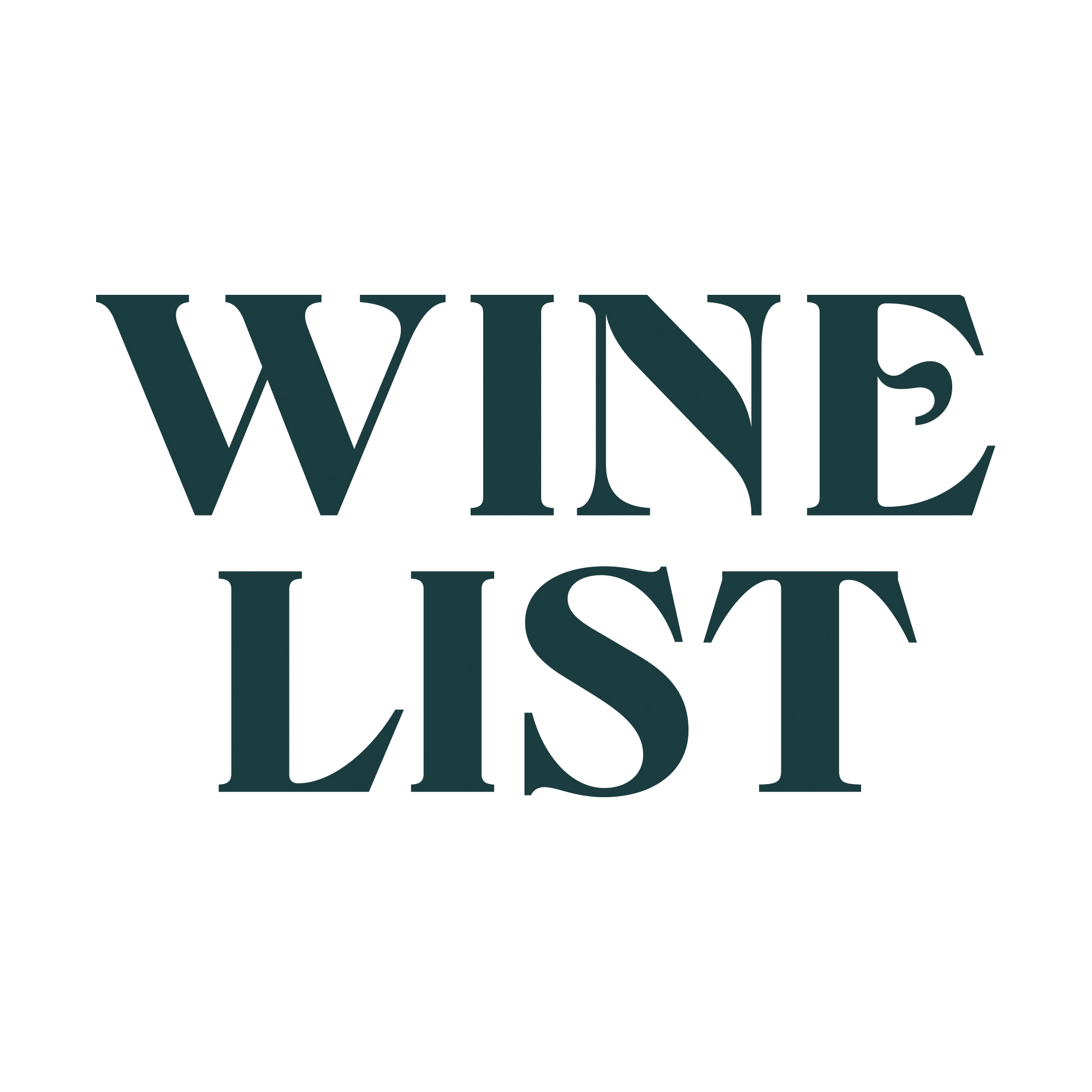 The Wine List logo